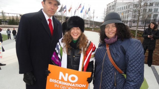 Rally Brings Out Opposition to Discrimination Bills 1