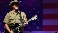 Ted Nugent performing at Charlie Daniels' 2015 Volunteer Jam at Bridgestone Arena in Nashville, Tennessee, Aug. 12, 2015. JTA