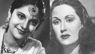 Pramila (Esther Abraham), left, the first woman to win the title of Miss India, and Egyptian film star Leila Mourad.