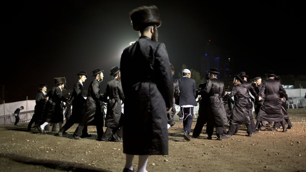 Views from the wedding of ultra-Orthodox 'royalty' | The ...