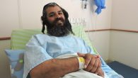Yonatan Azriaev recovering from his wounds at a Petach Tikvah hospital, March 10, 2016. JTA