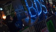 BDS supporters protesting in New York, Oct. 16-18, 2015. JTA