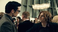 "Henry Cavill, left, as Clark Kent, and Jesse Eisenberg as Lex Luthor in ""Batman v. Superman: Dawn of Justice."" JTA"