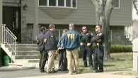 FBI agents and police officers conducted a series of raids in Ramapo, New York. JTA
