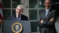 Judge Merrick Garland speaking after being nominated to the U.S. Supreme Court today in the Rose Garden. JTA