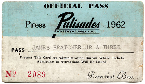 Siobhan's grandfather worked at Palisades Amusement Park, so the family always got a free pass.