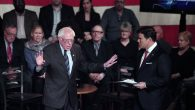 Democratic presidential candidate, Sen. Bernie Sanders at Presidential Town Hall In Detroit on March, 7. Getty Images