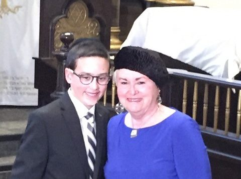 Special in Toronto - Simcha shows son's family is at home 1
