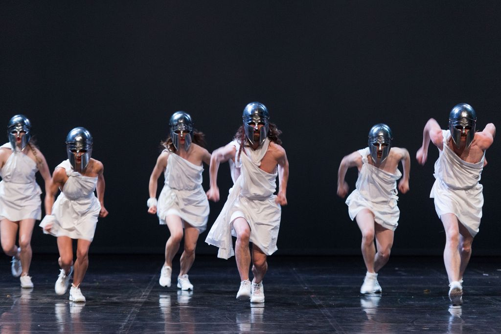 'Mount Olympus,' a 24-hour play at the Israel Festival (Courtesy Wonge Bergmann)