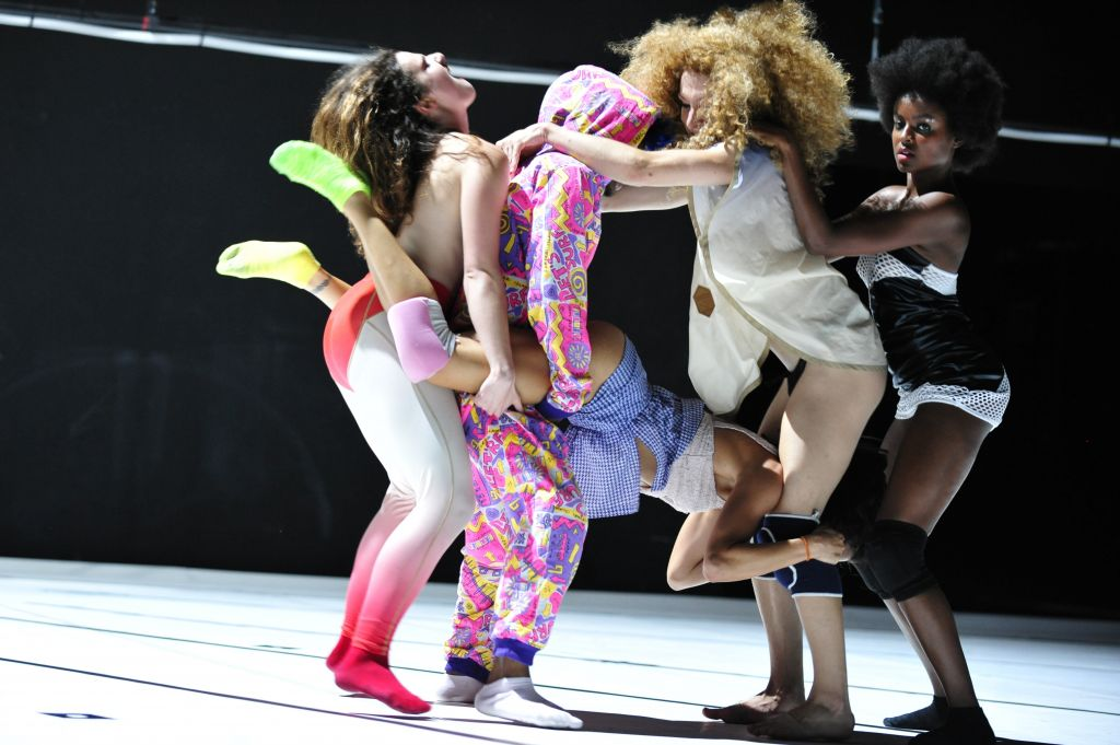 From 'TWERK,' a lollapallooza of club-like dancing for the stage (Courtesy Emile Zeizig)