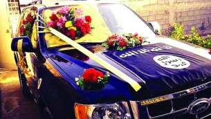 Al-Amriki-ISIS-wedding-car