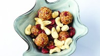 Cashew nut and cranberry  bites 3a