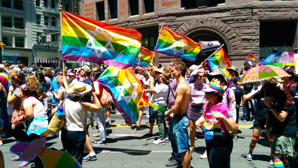 Gay Jewish flag bearer ejected from Pride parade