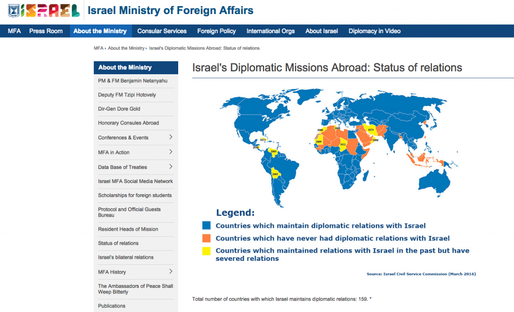 If my country has no diplomatic ties with Israel, is it still possible to study there?