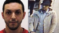 File: Paris attacks suspect Mohamed Abrini, seen left in an image released by Belgian police, is believed to be the 'third man' caught on CCTV at Brussels airport with the two men who blew themselves up there on March 22. (AFP Photo/Belgian Federal Police/STR and Twitter)