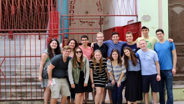 Emory Hillel Takes Mission Trip to Cuba 2