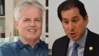 Republican Christopher McGrath, Left, Democrat Todd Kaminsky. Via Candidates' Websites