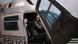 Major Ahmad-Reza Khosravi, 39, a former pilot in the helicopter unit of the Iranian Security Services (Courtesy)