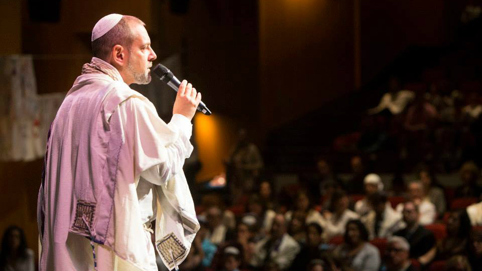 Rabbi Amichai Lau-Lavie is founder, spiritual leader and executive director of Lab/Shul in New York City. (Courtesy)