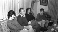 Rabin at home: A shy but blunt man, Rabin kept his family out of the public limelight.
