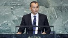 Nickolay Mladenov en 2013 (Crédit : Marco Castro/Nations unies)