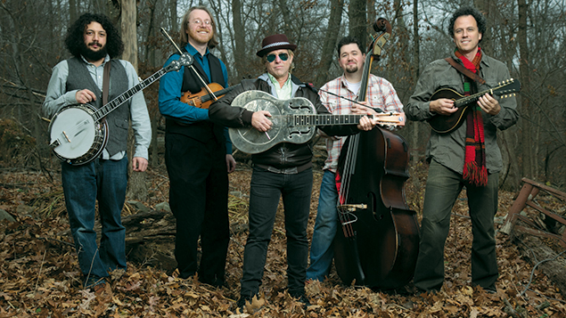 Deadgrass is, from left, Russell Gottleib, Clarence Ferrari, C Lanzbom, Dave Richards, and Matt Turk.Deadgrass