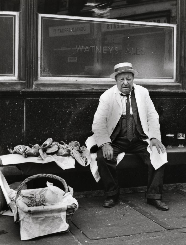 Billingsgate, 1960s London (Dorothy Bohm)