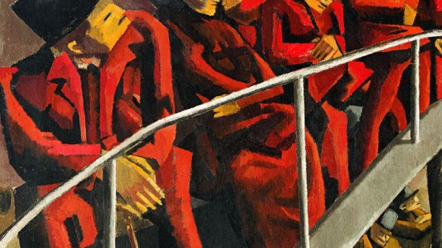 David Bomberg, Ghetto Theatre (1920)