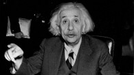 Albert Einstein, 1946. (Central Press/Getty Images via JTA)
