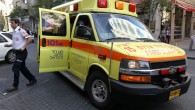 Illustrative photo of a Magen David Adom ambulance. (Nati Shohat/Flash90)