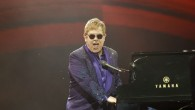 Elton John performs in Tel Aviv on May 26, 2016. (Nati Shohat/Flash90)
