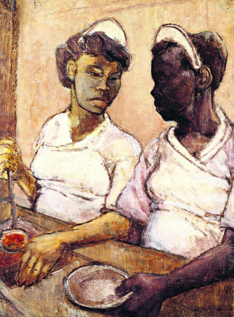 West Indian Waitresses, Eva Frankfurther, 1955
