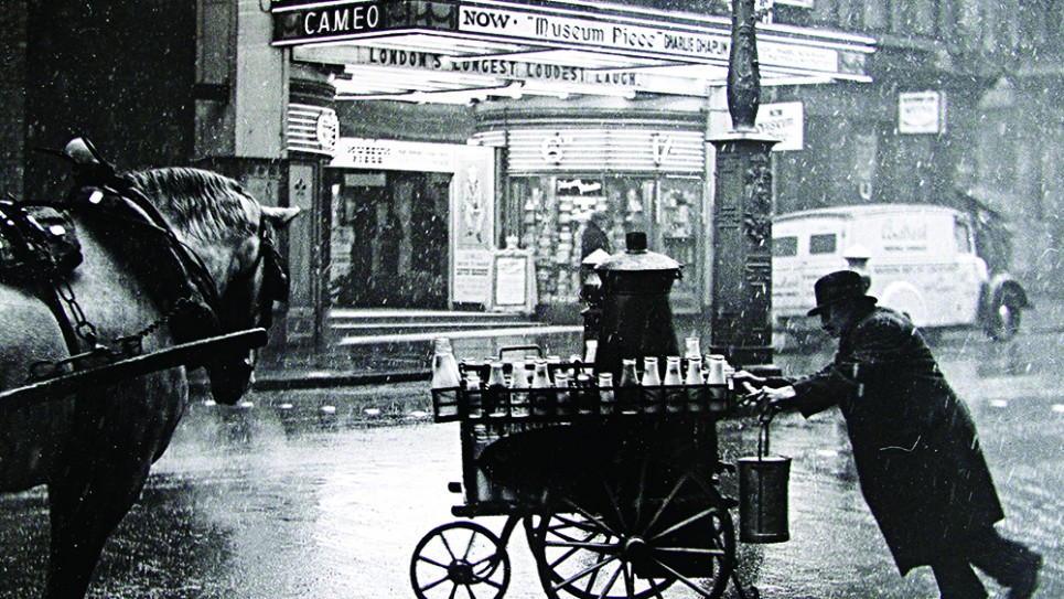 Wolf Suschitzky, 'Milkman on the Charing Cross Road', 1935 (hi res)