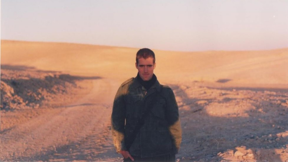 Matti Friedman, pictured during his IDF service in the late 1990s (Courtesy Matti Friedman)