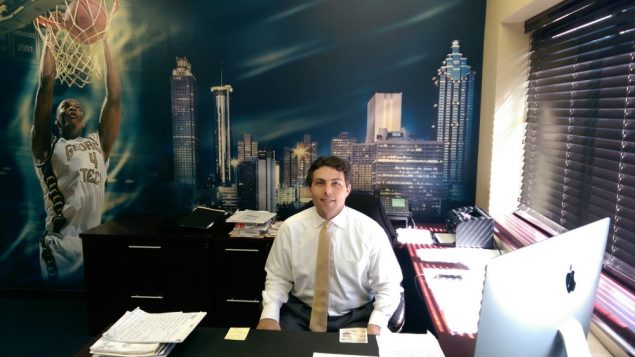 Tech's Pastner Feels Strength of Jewish Atlanta 1