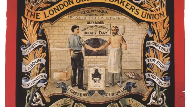 Bakers Banner sign (credit - Jewish Museum)