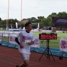 Benjy Klauber crosses finish line for Jewish Care
