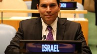 Danny Danon at the United Nations representing Israel