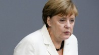 German Chancellor Angela Merkel addresses the German Bundestag with a so-called Government Declaration about the British vote to leave the EU, June 28, 2016. (AP Photo/Markus Schreiber)