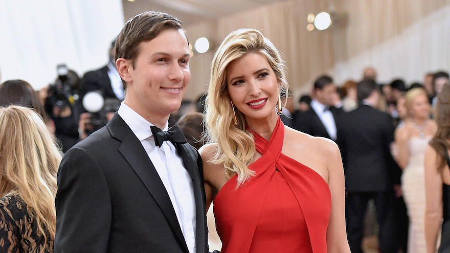 Jared Kushner  that she    carried none of the baggage of the Trump