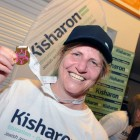 Kisharon chief executive  Dr Bev Jacobson with one of her three medals – she did the 10k, 5k and 1k races (photo: John Rifkin)