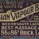 Russian Vapours sign (credit - Jewish Museum)