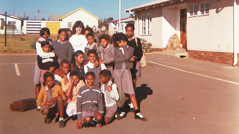 Andi did her fieldwork at Eldorado Park, a colored township just outside Johannesburg.