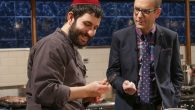 Rabbi Chanoch Hecht will appear alongside a priest, and a nun-in-training on Chopped. Courtesy Food Network