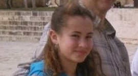 Hallel Yaffa Ariel, 13, was killed in a stabbing attack in her bedroom in the West Bank settlement of Kiryat Arba, June 30, 2016. (Courtesy)