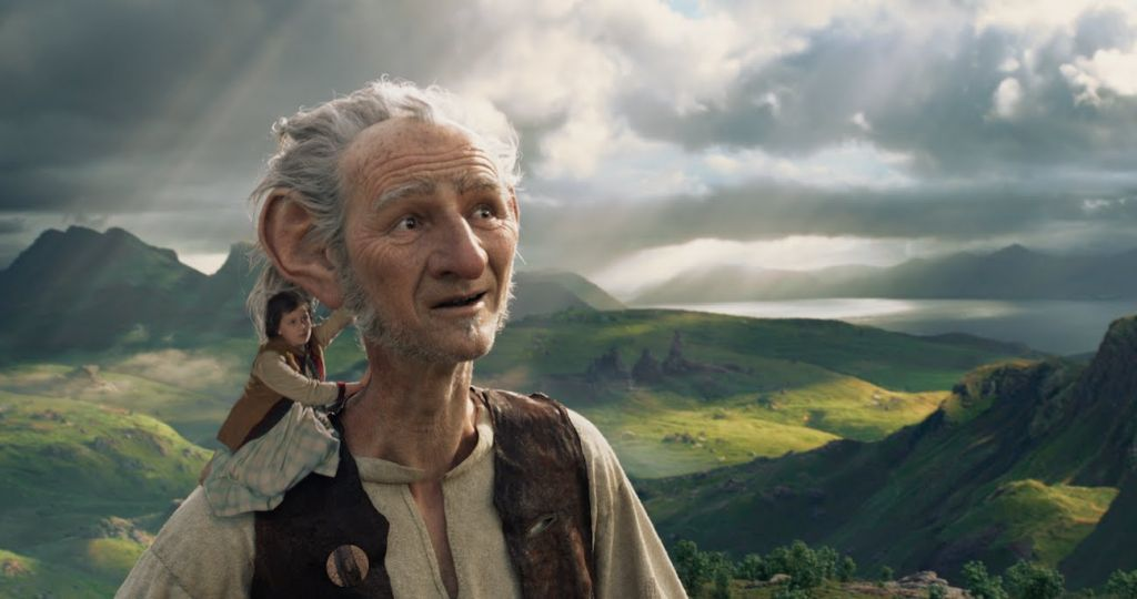 A scene from the 2016 film 'The BFG' (Walt Disney Pictures)
