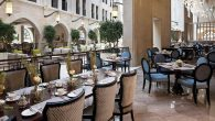 The lobby lounge at the Waldorf Astoria Jerusalem. Courtesy of Hilton Hotels Corp.