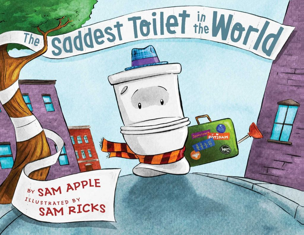 Cover of Sam Apple's 'The Saddest Toilet in the World,' published by Simon and Schuster 2016 (Courtesy)