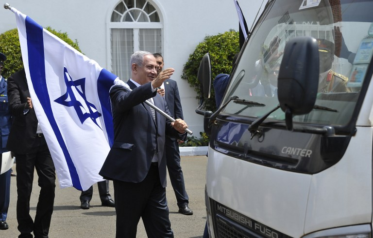 In Rwanda, Netanyahu notes similarities between country's genocide and the Holocaust