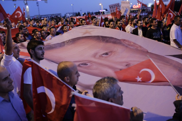 Turkey's Post-Coup Crackdown Puts Human Rights on the Chopping Block